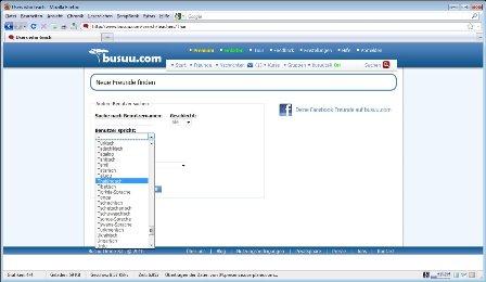 Auf Busuu.com kann man neben Thailändisch auch weitere Sprachen lernen und dafür einen Tandempartner suchen.