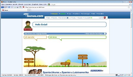 Der Sprachgarten von Busuu.com