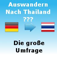 Die Große Umfrage zum Auswandern nach Thailand. Mach mit!
