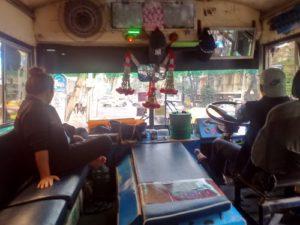 Mit dem Linienbus durch Bangkok