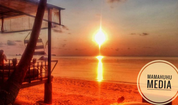 I-Talay Sonnenuntergang